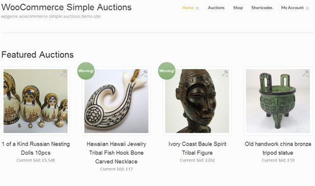 woocommerce simple auctions wordpress auctions by wpgenie codecanyon